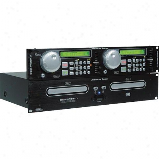 American Dj Open Box Pro-310 M2 Professional Dual Cd Player