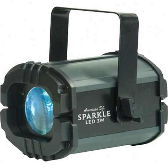 American Dj Sparkle Lde 3w Lightig Effect