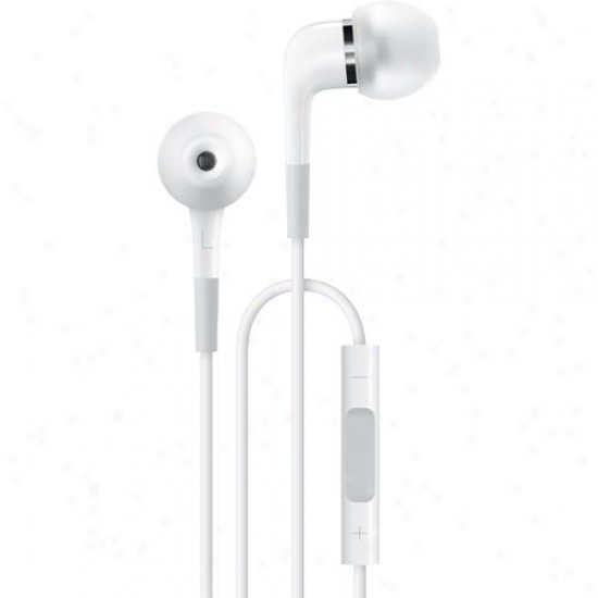 Apple Ma850g/b In-ear Headphones With Remote And Mic