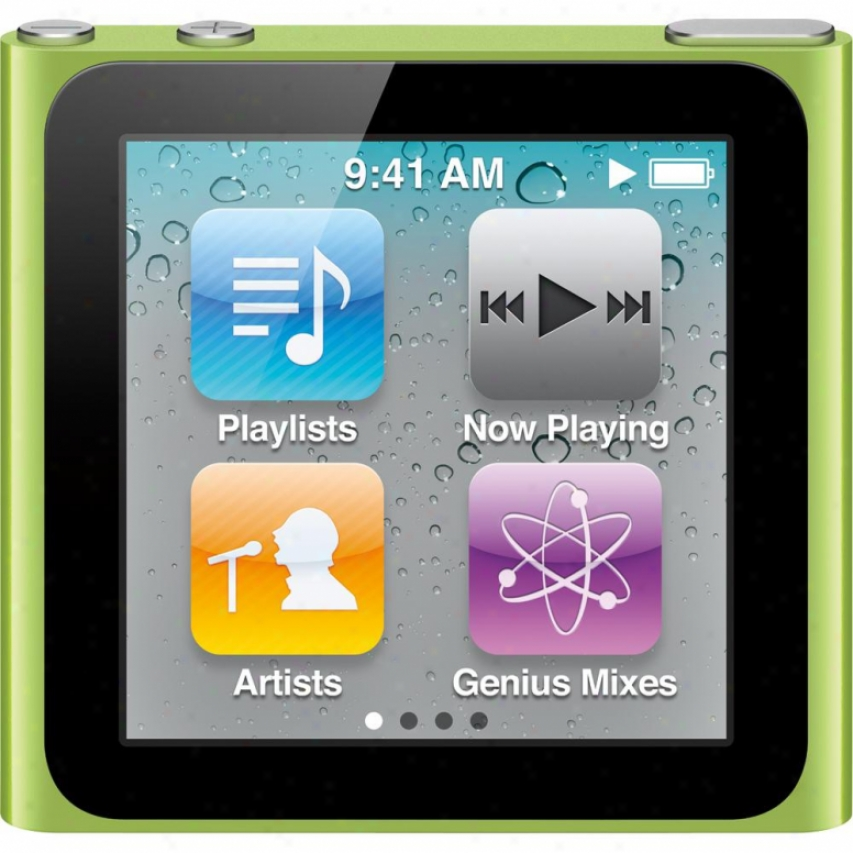 Apple Mc690ll/a Ipod Nano 8gb - Green
