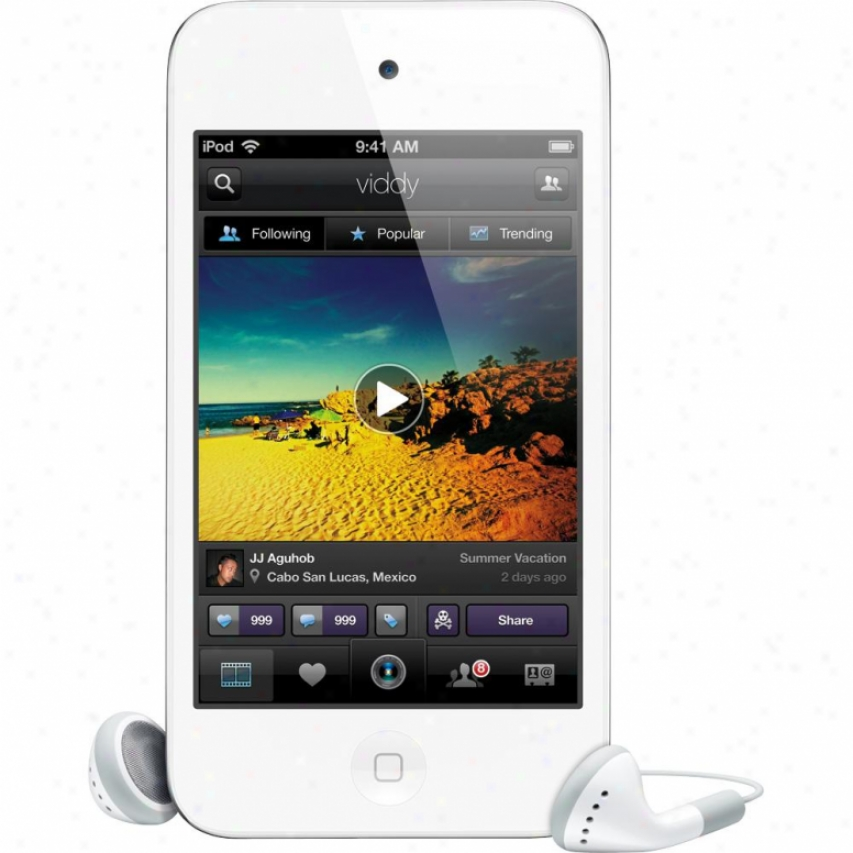Apple Md058ll/a Ipod Touch 32gb (4th Generation - Latest Model) - White