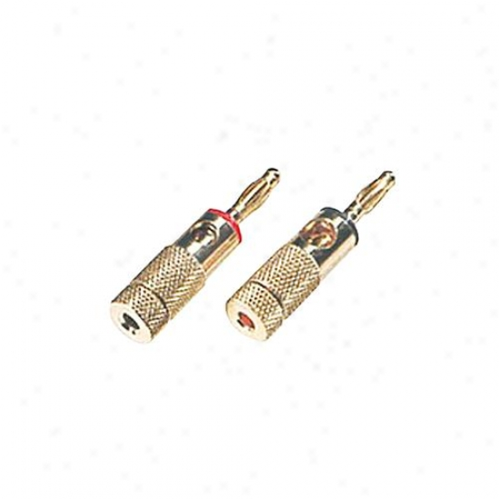 Arista 18-7415 1 Pair Of Banana Plugs