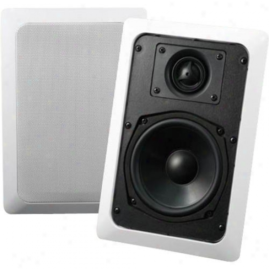 """Audio Source Ac5w Custom Series 5"""" In Wall 2-way Speaker System - Pair"""