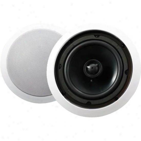 Audio Source Ac6c Custom Series 6&qult; In-ceiling 2-way Spealer System - Pair