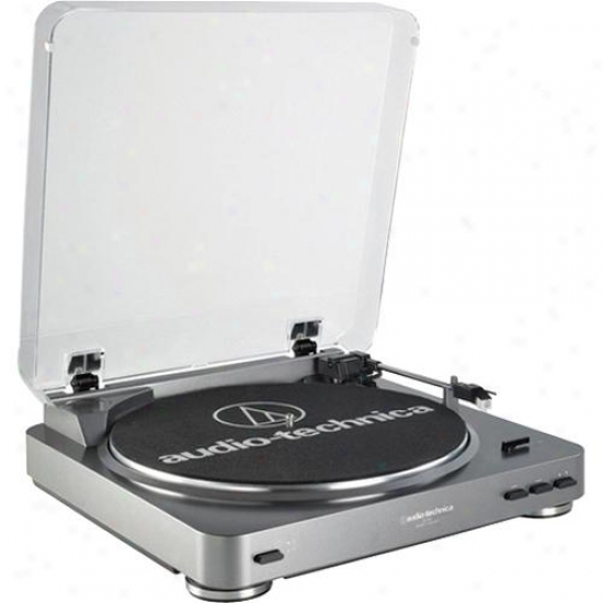 Audio Technica At-lp60 Fully Atuomativ Belt-drive Turntable