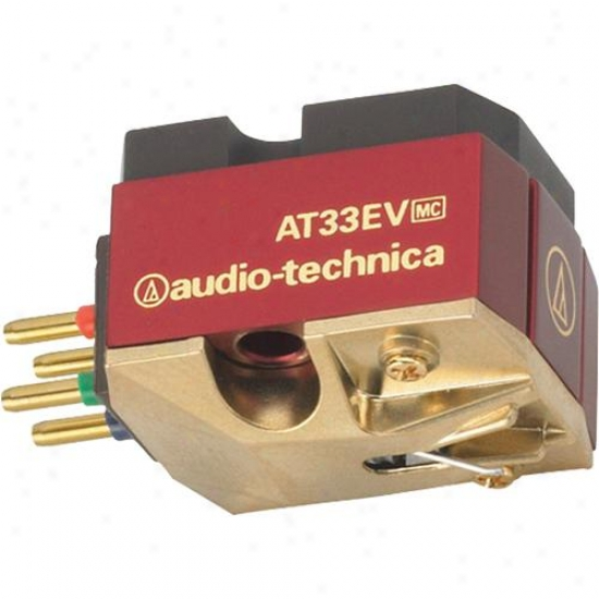 Ahdio Technica At33ev Moving Coil Phono Cartridge