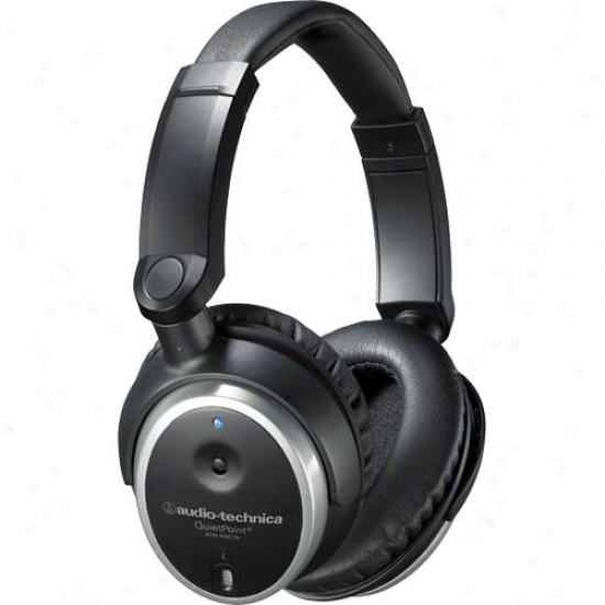 Audio Technica Ath-anc7b Quietpoint Active Noise-cancelling Heafphones