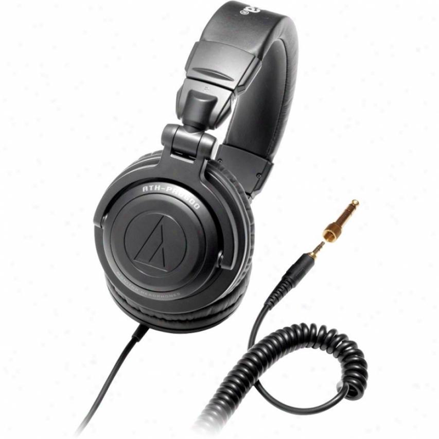 Audio Technica Ath-pro500bk Professional Dj Monitor Headphones - Black
