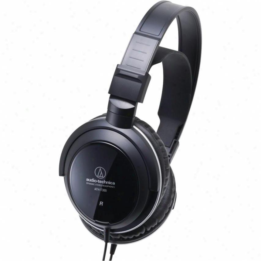 Audio Technica Ath-t300 Closed-back Dynamic Monitor Headphones