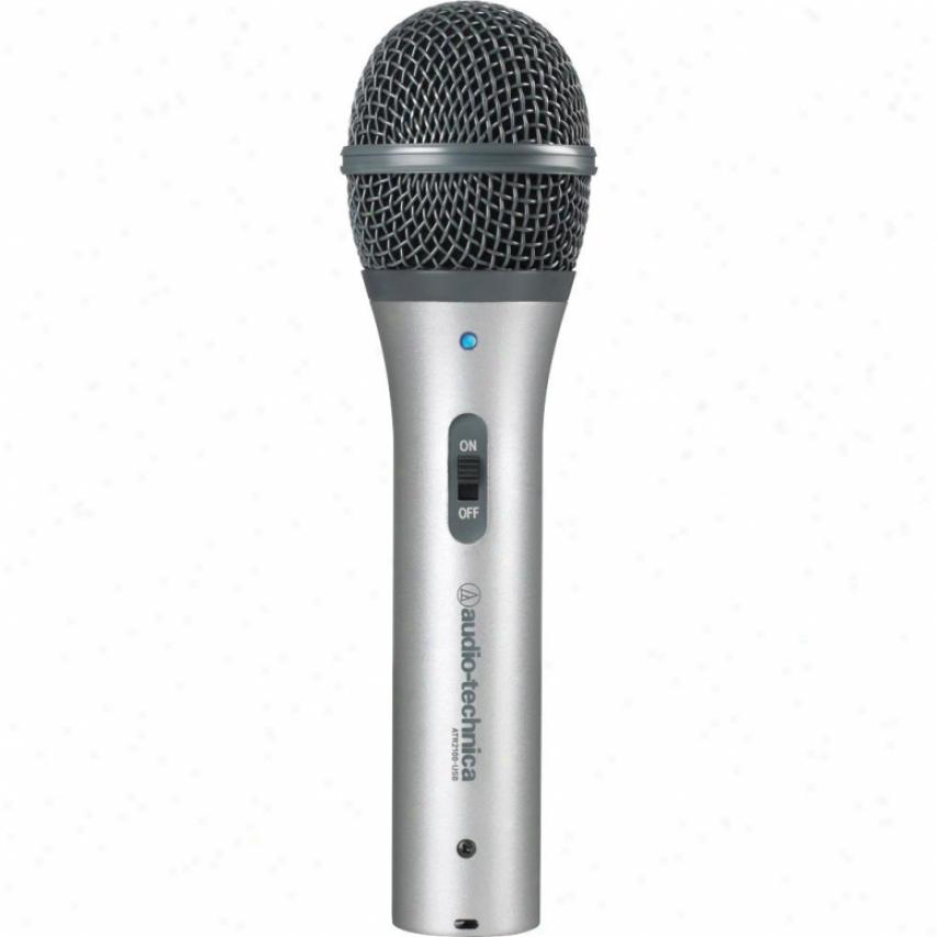 Audio Tecynica Atr2100-usb Cardioid Dynamoc Usb/xlr Microphone