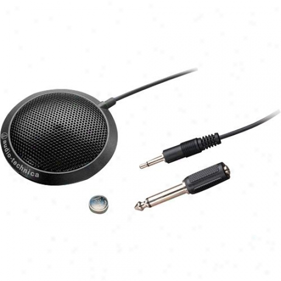 Audio Technica Atr4697 Omnidirectional Condenser Boundary Microphone