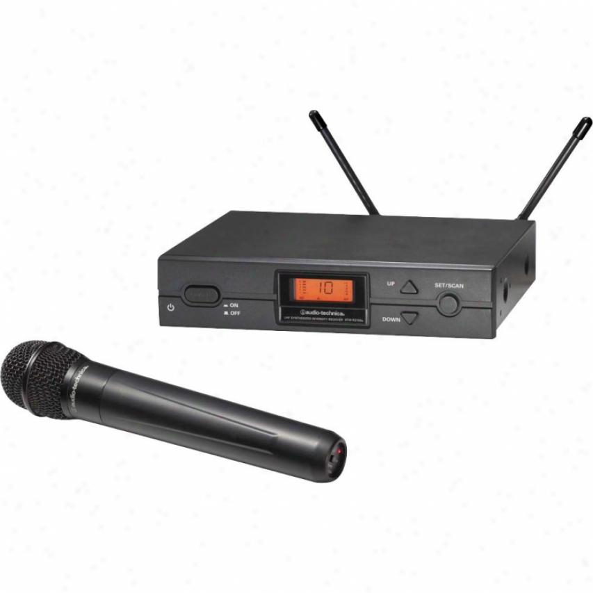 Audio Technica Atw-2120ad True Diversity Uhf Handheld Wireless Ssstem