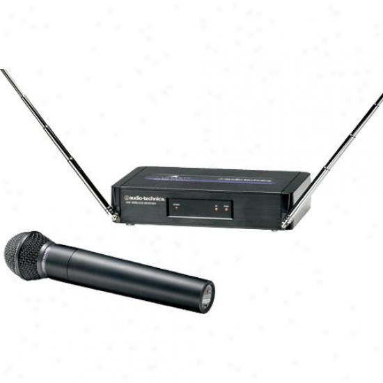 Audio Technica Atw-252-t8 Handheld Vhf Wireless Mic System