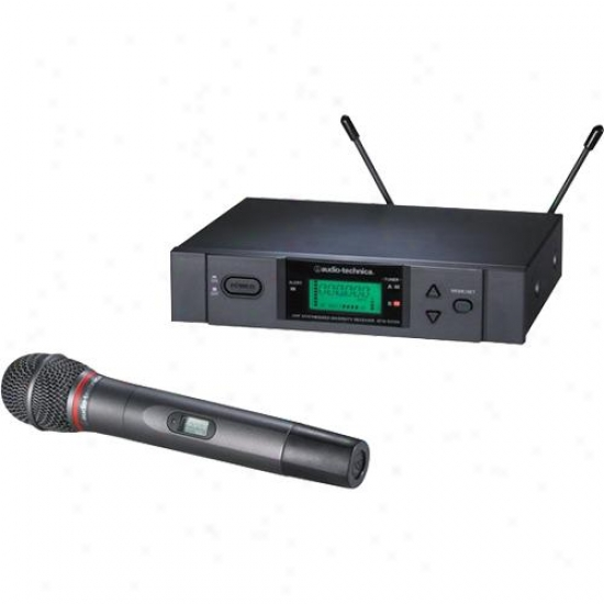 Audio Technica Atw-3141ac True Diversity Uhf Wireless Microphone