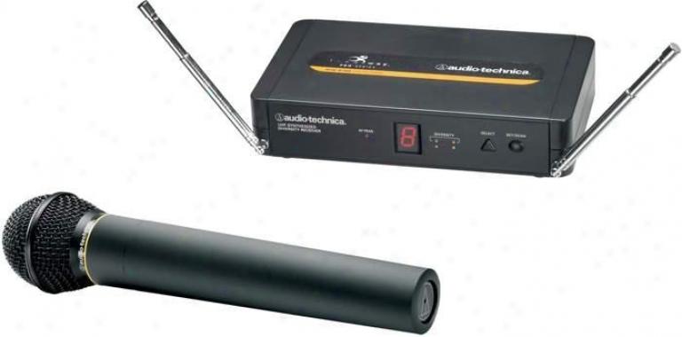 Audip Tevhnica Atw-r700 Receiver & Atw-t702 Handheld Unidirectional Dynamic Micr
