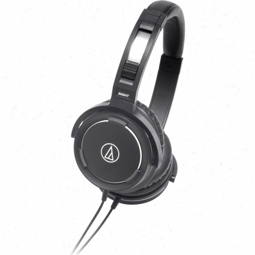 Audio Technica Portable Headphones - Black