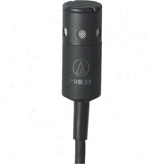 Audio Technica Pro 35 Cardioid Clip-on Microphone