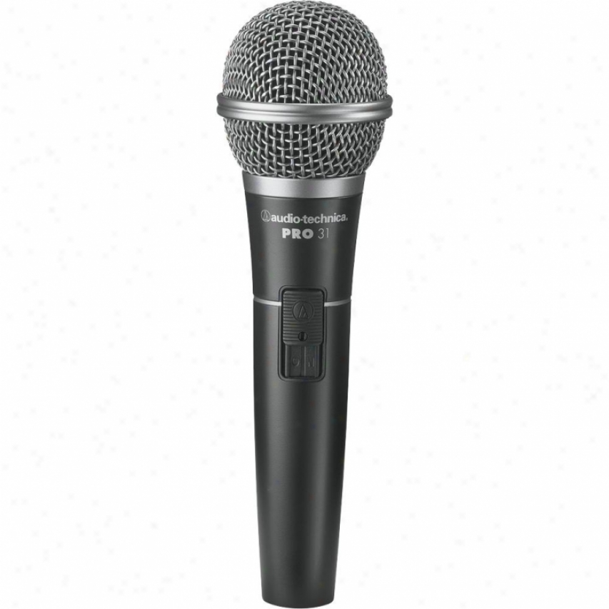 Audio Technica Pro31qtr Cardioid Dynamic Handheld Microphone