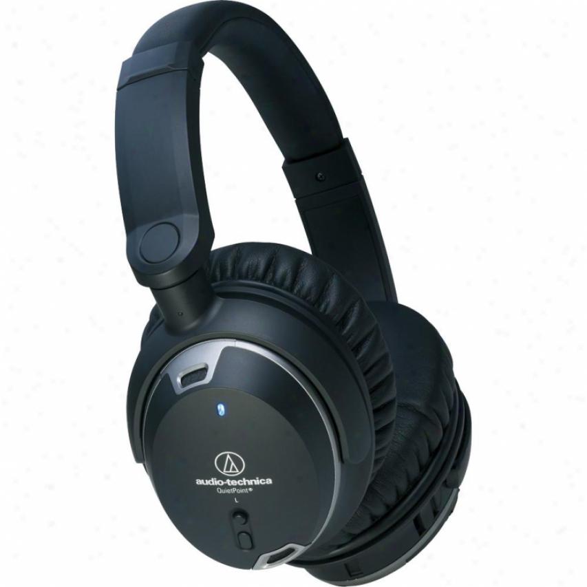 Audio Technica Quietpoint Acrive Noise-cancel Headphones Ath-anc9
