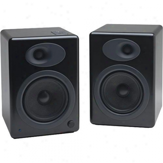 Audioengine Open Box A5b Powered Bookshelf Speaker Sytsem - Black Finish