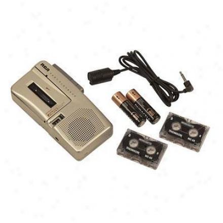 Audiovox Micro Cassette Recorder