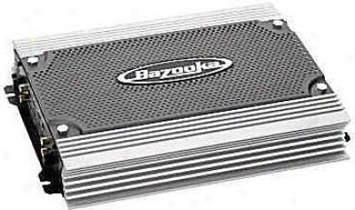 Bazooka 1 X 300 Watts @ 2 Ohm Mono (subwooer Ajplifier Only) 500 Watts Max.