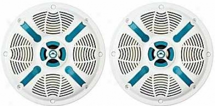 "Bazooka 6.5"" 120 Watts Max 2-way Marine Speakers (pair)"