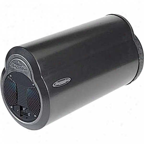 "Bazooka Bta6100 6"" 100-watt Amplified Bass Tube Subwoofer For Car Stereos"