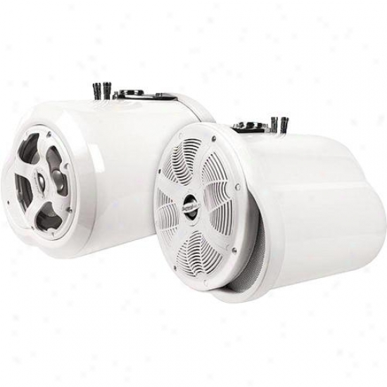 Bazooka White 8 Dohble nEded Tubbie W/ 5.25 Coaxial 225 Watts