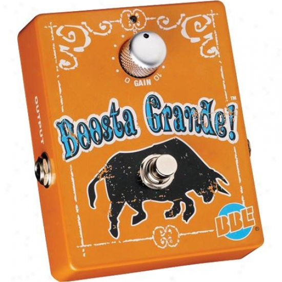 Bbe Sund Boostagrand Boosta Grande Stomp Box