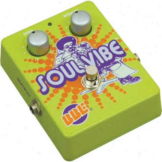 Bbe Sound Soulvibe Soul Vibe Analog Univibe Effect Pedal Stomp Box