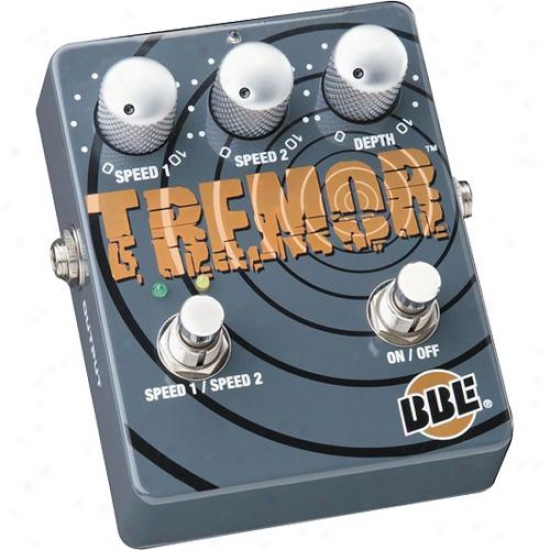 Bbe Sound Tremor Dual Mode Analog Tremolo Stomp Box