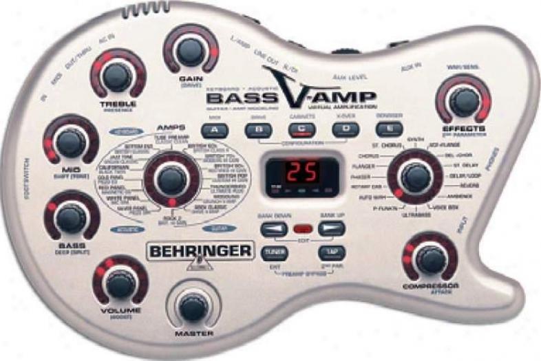Behringer Effects & Modeling Processors W/32 Amp Models, 23 Speaker Cabinet Simu