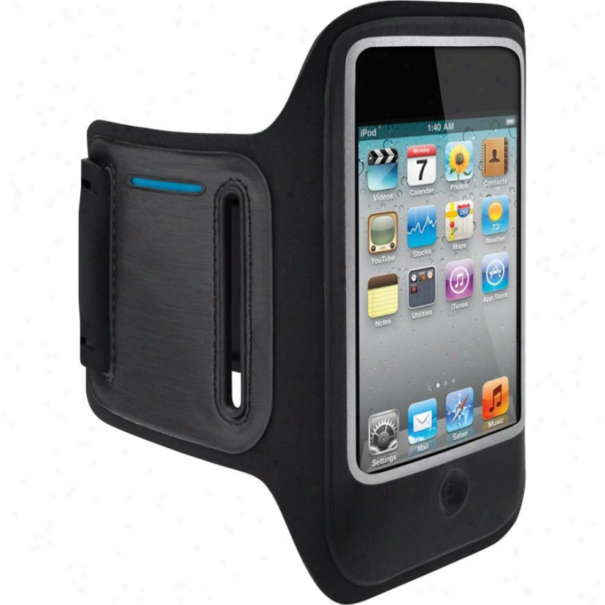Belkin Dualfit Armband For Ipod Touch 4g - Black