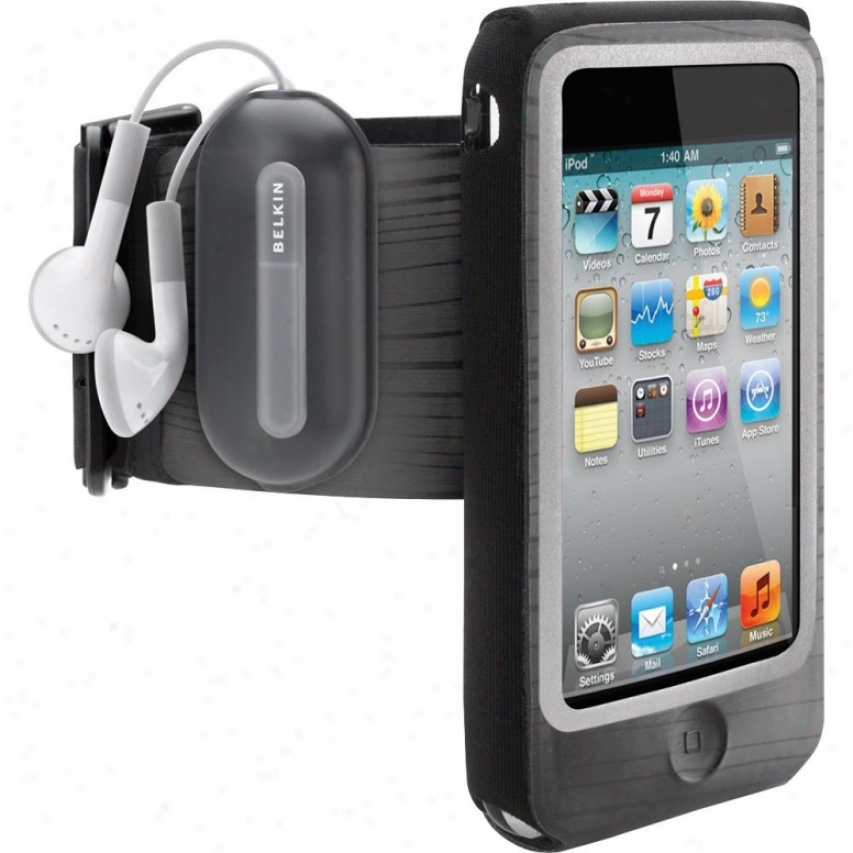 Belkin Fastfit Armband For Ipod Touch 4g - Black/blue