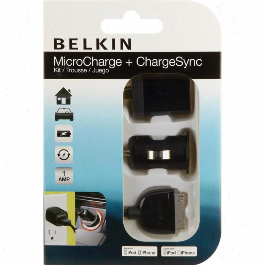 Belkin Midrocharge + Chargesync Kit F8z493tt03p