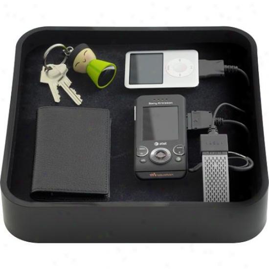 Bluelounge Design Ts-01-bl The Sanctuary Device Organizer - Black