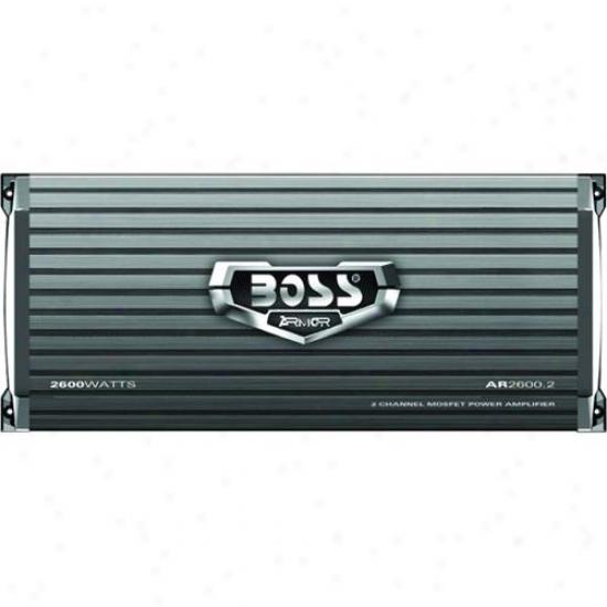 Stud Audio 2 Passage 2600 Watt Armor Mosfet Power Amplifier Ar2600.2