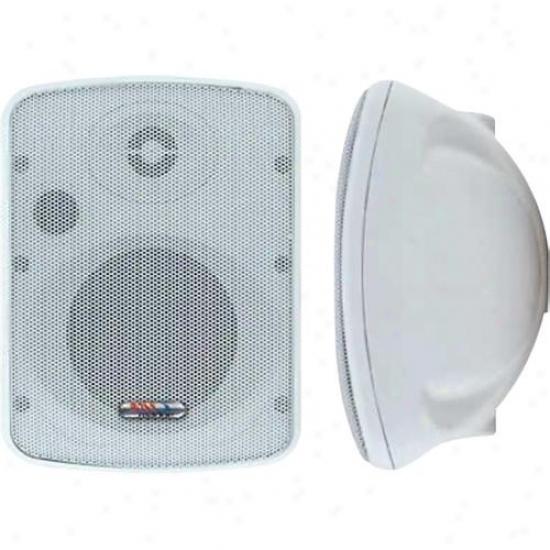 Boss Audio 2-way Marine Enclose in a ~ Speaker 100 Watts Mr12