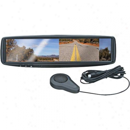 "Boss Audio 4.3"" Monitor Built Into Rear View Mirror Bv4.3rm"