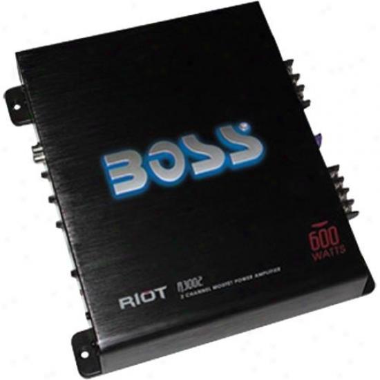 Stud Audio 600 Watt Riot 2 Channel Mosfet Power Amplifier R3002