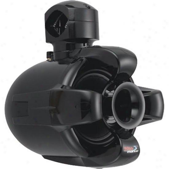 """Boss Audio 6.5"""" 2-way Waketower Marine Speaker Black Mrwt6b"""