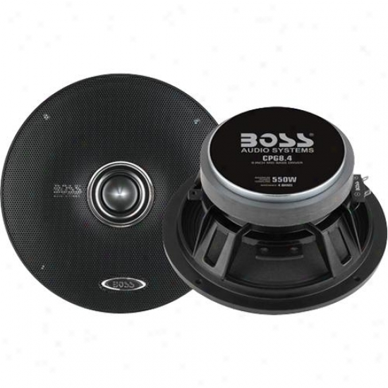 Boss Audio 8&quoot; Mid Bass Woofer Pro Speqker 4 Ohm Cpg8.4
