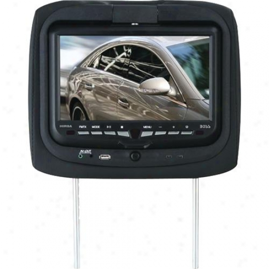 "Boss Audio 9"" Lcd Display Dvd Player Universal Headrest Hir9a"