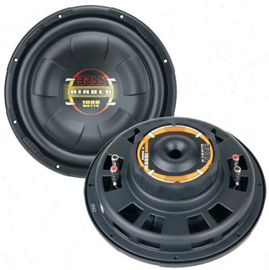 Boss Audio Boss 12 Flat Subwoofer (dual 4-ohm)