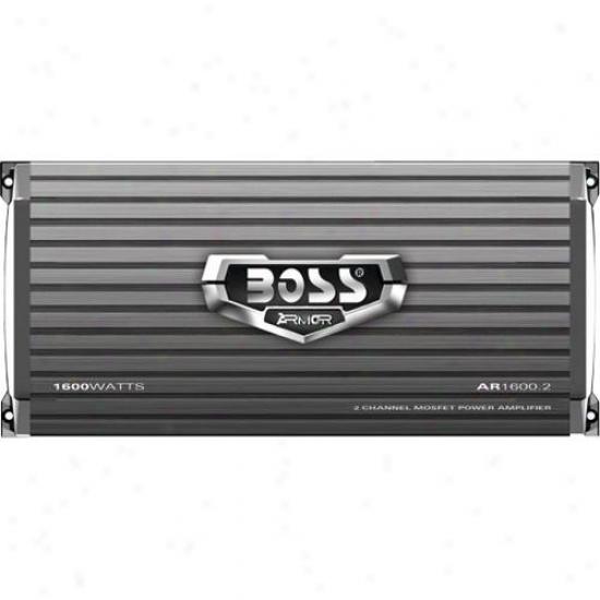 Boss Audio Boss Armor 1600-watt 2-ch Amp Ar16002