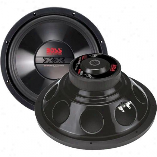 "Boss Audio Boss Chaos Exxtreme 12"" Dvc Subwoofer"