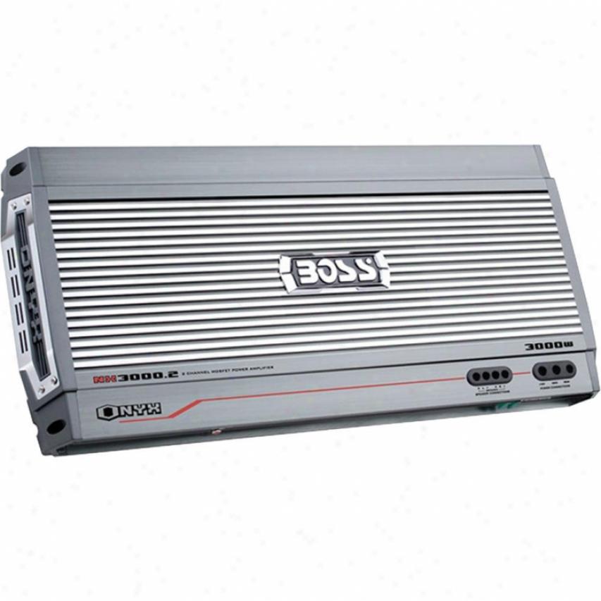 Boss Audio Boss Onyx 3000 Watts, 2-channel Amplifie