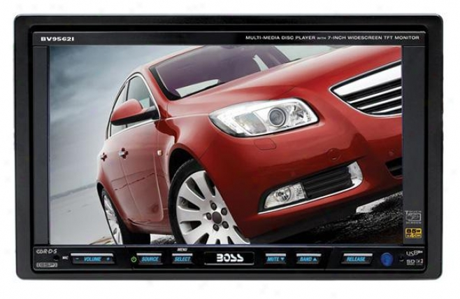 "Boss Audio Bv9562i Dvd/mp3/am/fm Double-din Car Receiver With 7"" Touchscreen Lcd"