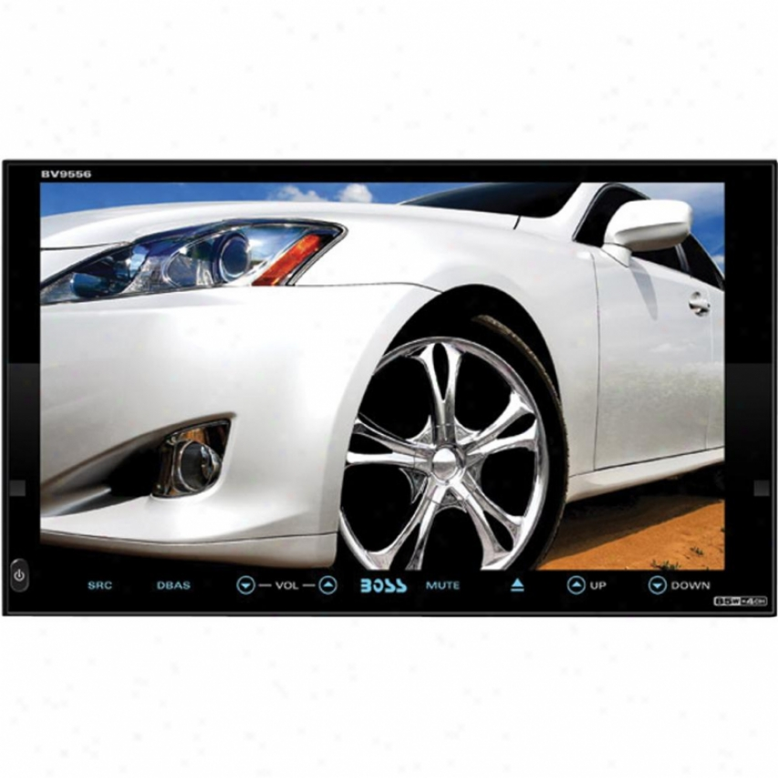 "Boss Audio In-dash Double-din Dvd-cd Receiver 7"" Touchscreen Monitor Bv9556"